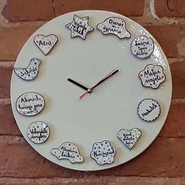 """Prekės Laikrodis """"Laimės valandos"""" nuotrauka"""