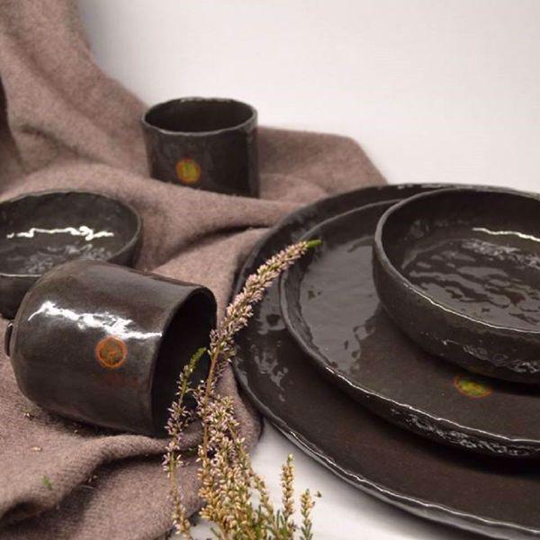 Prekės Juodosios keramikos indai nuotrauka