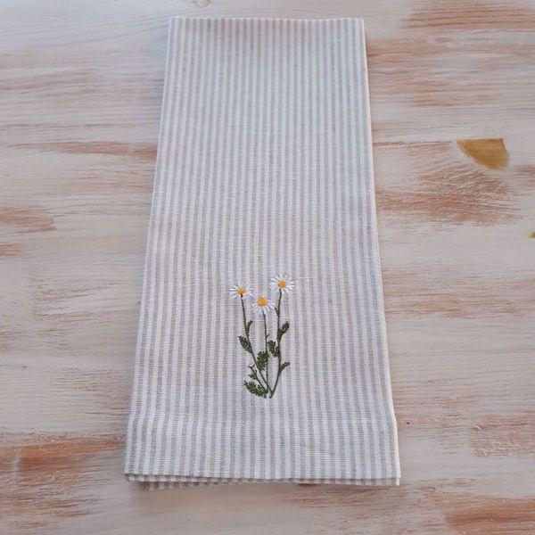 Prekės Virtuvės rankšluostis Žolynai 47 x 70 cm, Ramunėlė nuotrauka