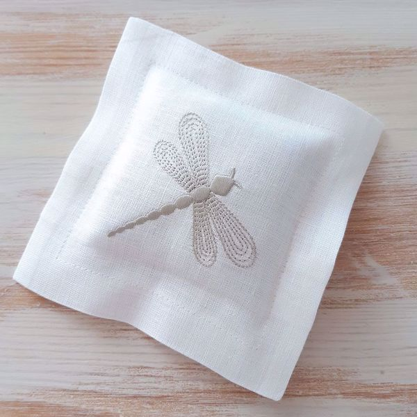 "Picture of Lavender Pillow ""Dragonfly"""