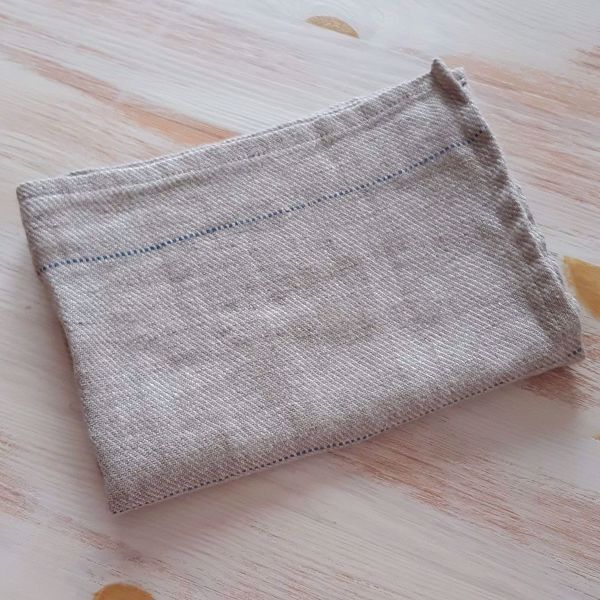 Picture of Linen towel natural grey 45X65cm