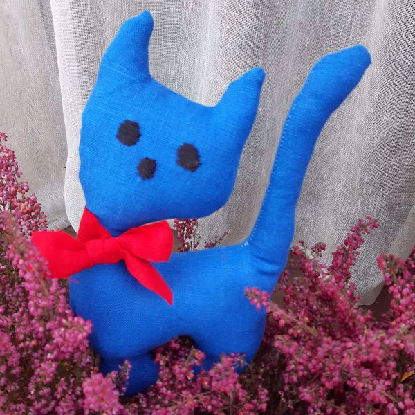 Picture of Sky Blue Cat