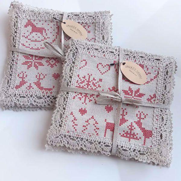 Picture of Christmas napkins Set I